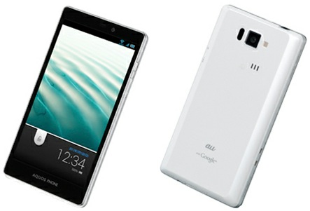日本賞:SHARP AQUOS PHONE SERIE SHI16(ISW16SH)