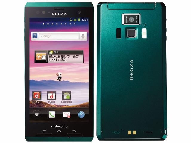 FUJITSU REGZA Phone T-01D
