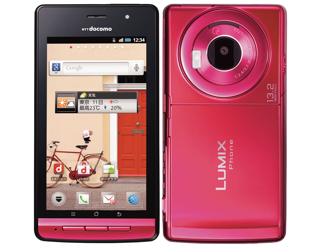 Panasonic LUMIX Phone P-02D